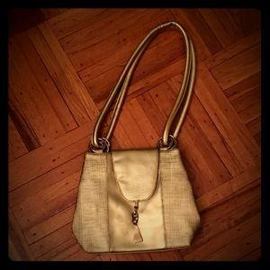 Metallic gold purse 90s